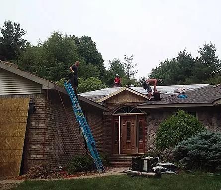 residential roofing Detroit, MI