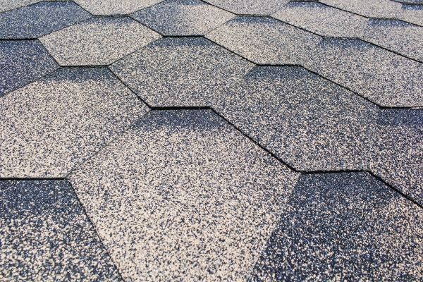 grey asphalt shingle roof surface