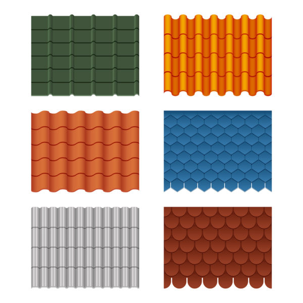 different tile roofing styles