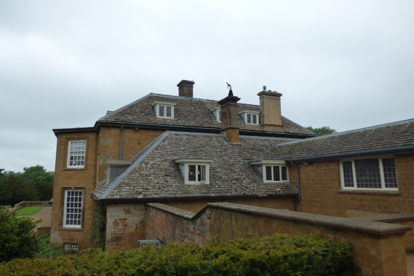 a hip and valley roof traditional look