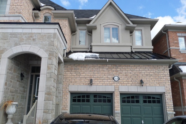 elegant standing seam metal roofing with snowmelt