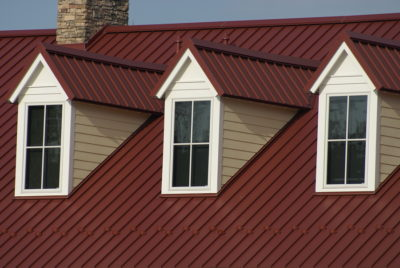 metal roof for Saint Claire Shores Homes