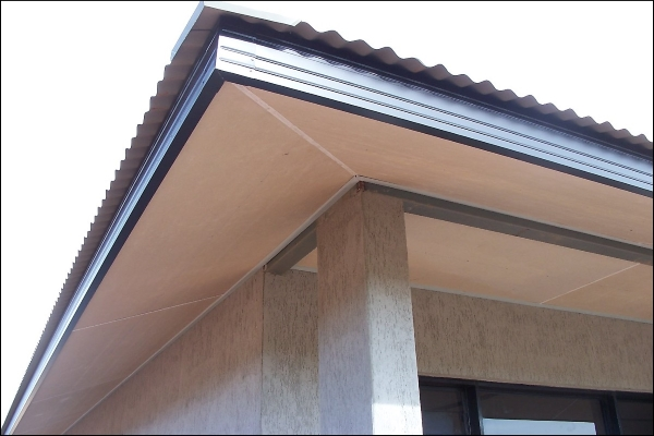 soffits ready for vent installation