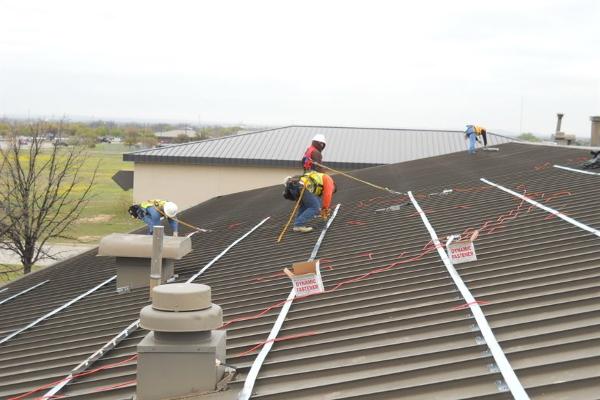 roof overlay install